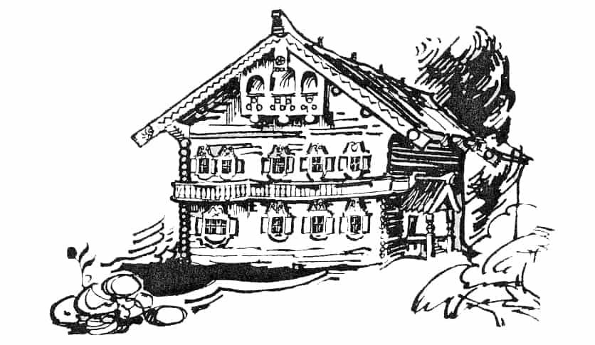 Крестьянский дом из деревни Клейщела