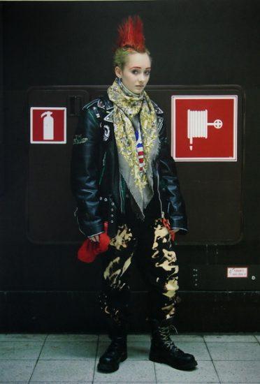 На выставке «Уличная мода Хельсинки»