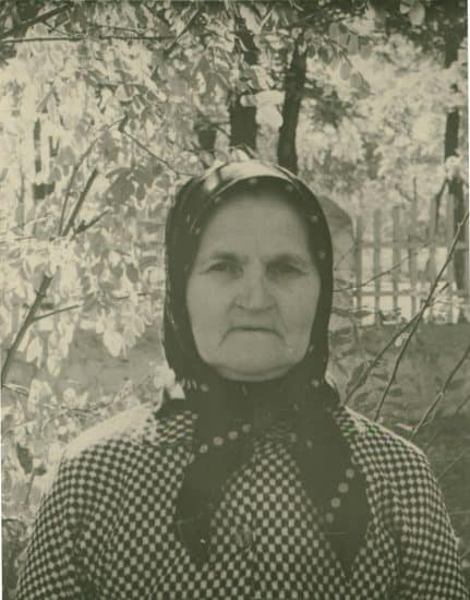 Мария Агафоновна