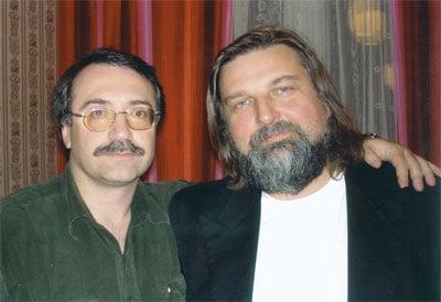 Даниил Крамер и Валерий Гроховский. Фото с сайта lnogradski.ru