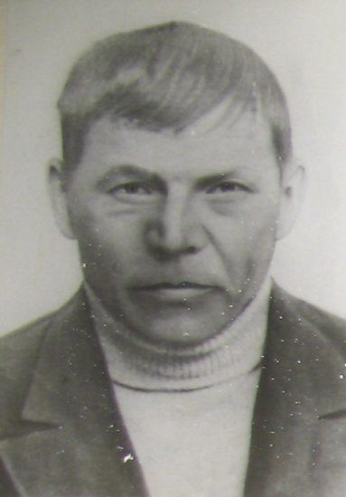 Дед Иван Сергеевич. 1942 год