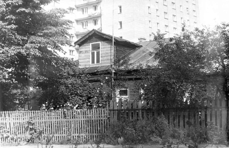 Цветаевский домик во времена, когда еще не был музеем