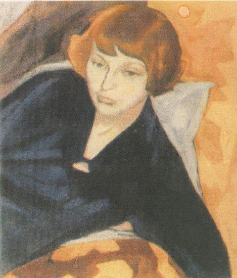 Магда Нахман. Портрет Марины Цветаевой