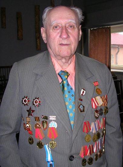 Михаил Фишман на встрече ветеранов журналистики, май 2008 года. Фото Натальи Мешковой