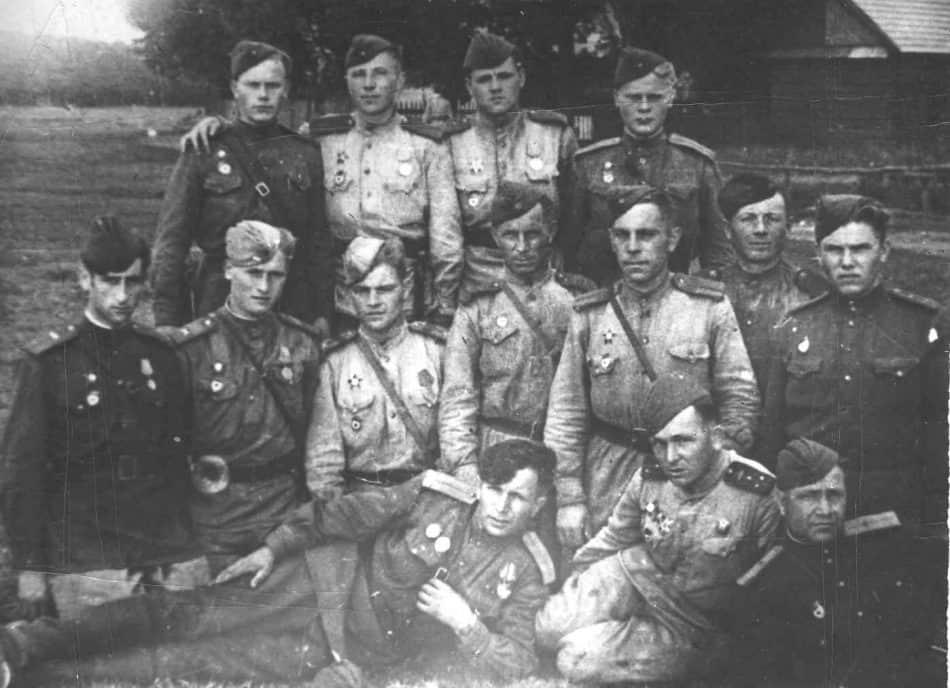 Взвод разведки. Октябрь 1944 года, Польша
