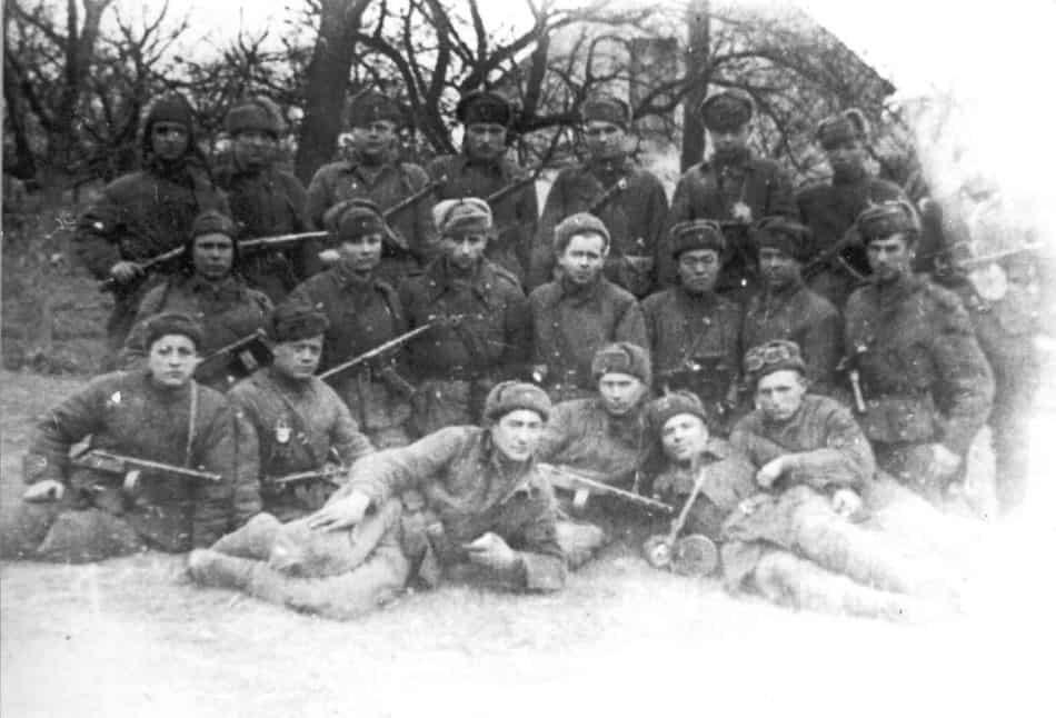 Командиры взводов. Осень 1944 года, Сондомирский плацдарм