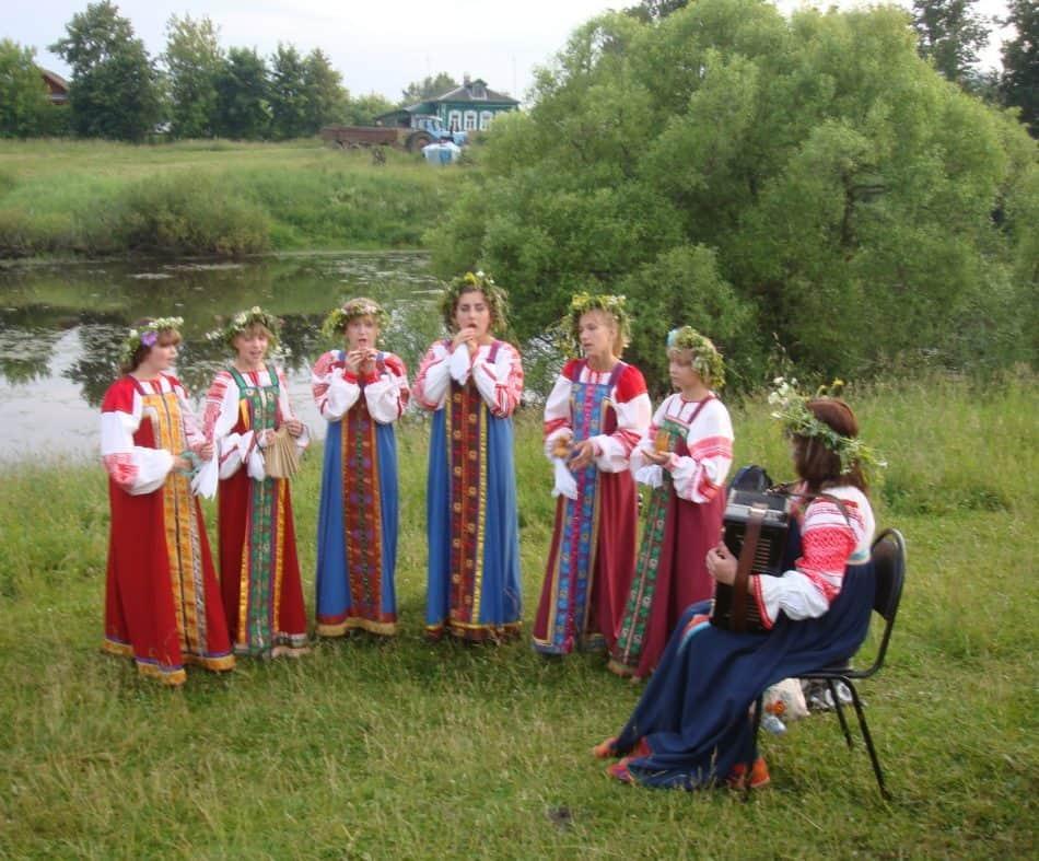 В день Ивана Купалы исполнялись народные песни