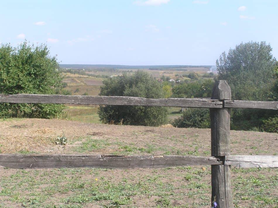 Село Тарановка. Места сражений