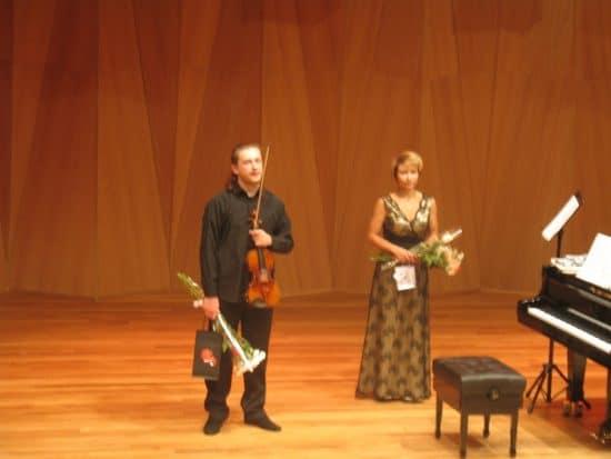 Павел Милюков и Алена Колесникова