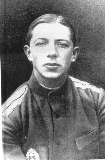 С.С. Юдин в 1916 году
