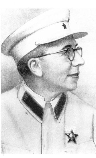 С.С. Юдин в 1942 году