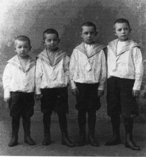 Сергей, Петр, Глеб, Георгий (Юрий) Юдины