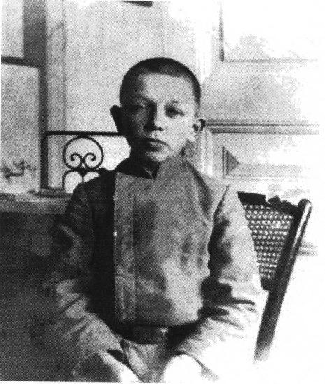 Сергей Юдин-гимназист