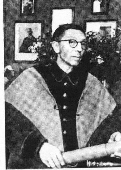 С.С. Юдин в мантии. 1943 год