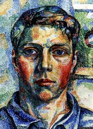 Михаил Цыбасов. Автопортрет. 1926