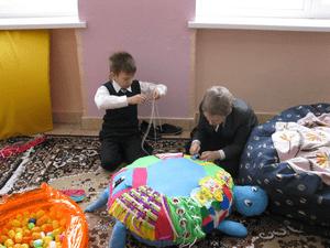 Детско-родительский проект «Наша сенсорная комната»