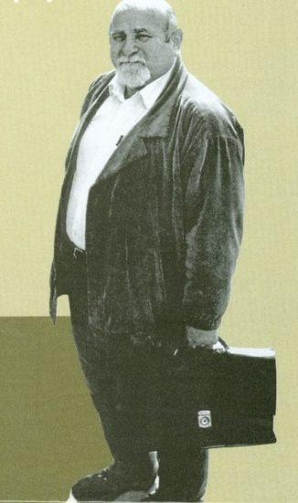 Исаак Самойлович Фрадков. 1992 год. Фото Владимира Ларионова