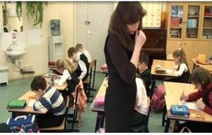 Светлана Малова на уроке