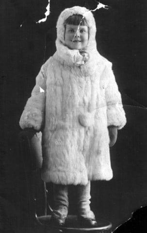 Свердловск, 1933 год. Такой моя мама осталась в её памяти.