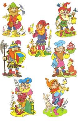 Картинки - основа для изображения волшебников