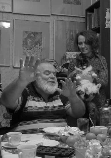 Юрий Линник с женой Натальей. Фото Ирины Ларионовой