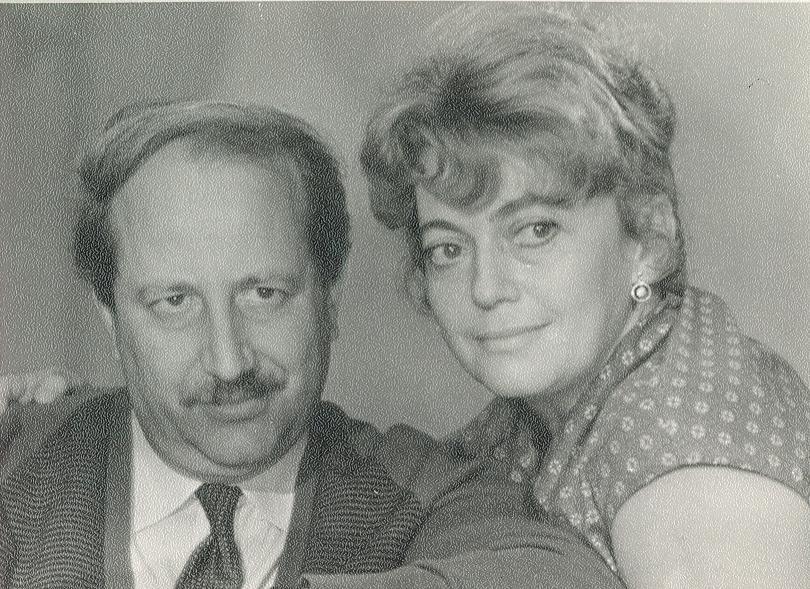 М. Швейцер и С. Милькина после фильма «Время, вперед!», осень 1965 года