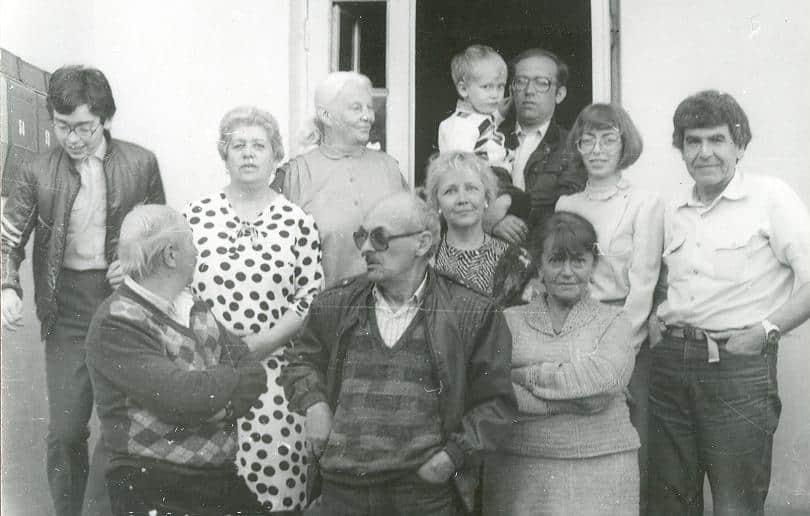 День рождения Булата Окуджавы. Ялта, дом Вольфсонов, 9 мая 1988 года