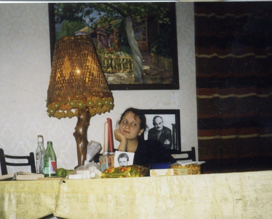 Инна Фрадкова в квартире Швейцеров в Москве