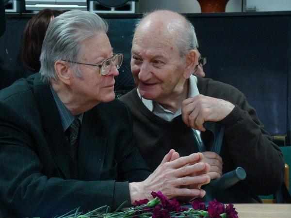 Александр Валентик (слева) и Иосиф Гин