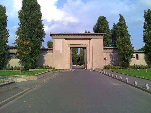 Вход на кладбище Тие. Martin Ottmann
