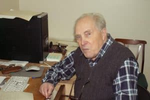 З.С. Кауфман, январь 2012 года. Фото Натальи Лайдинен