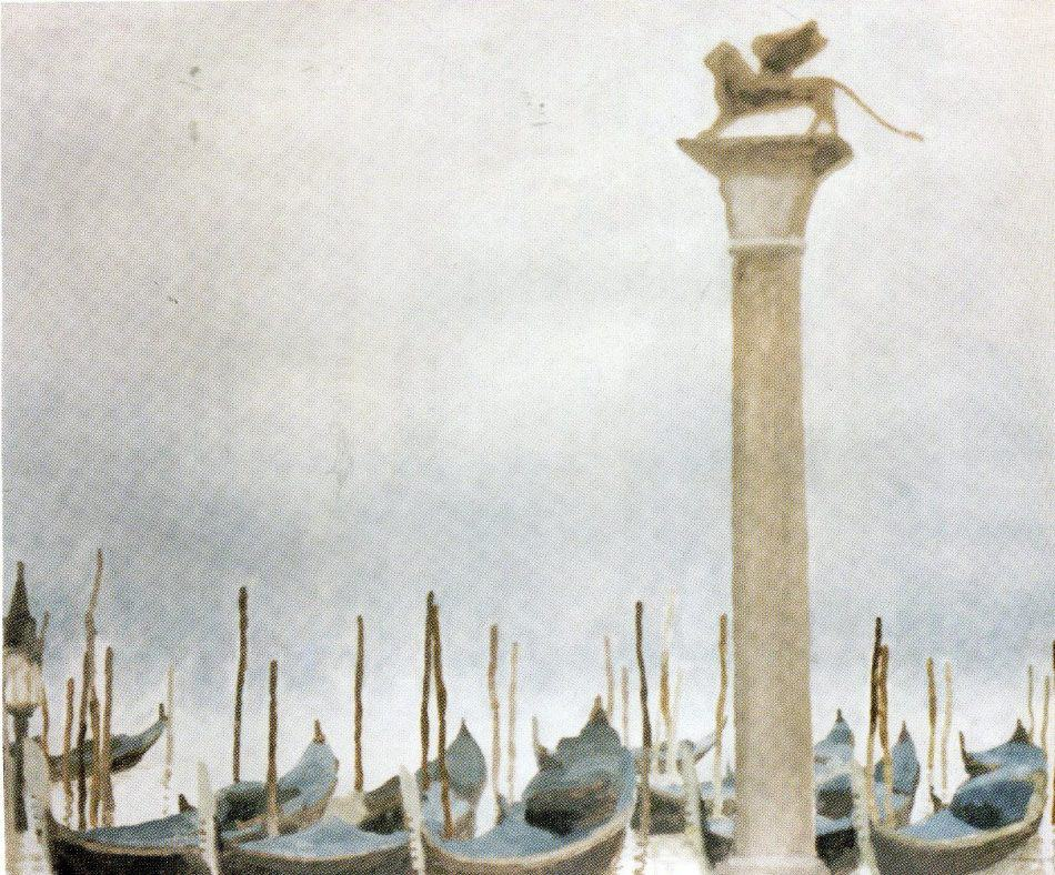 М. Мечев. Туман в Венеции. 2002
