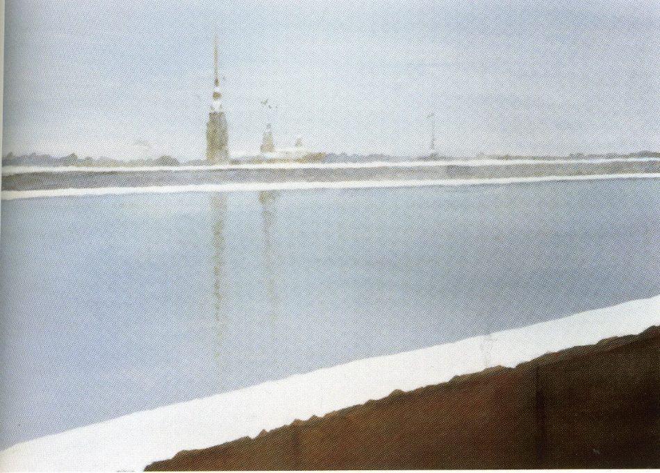 М. Мечев. Набережная Невы. 2009