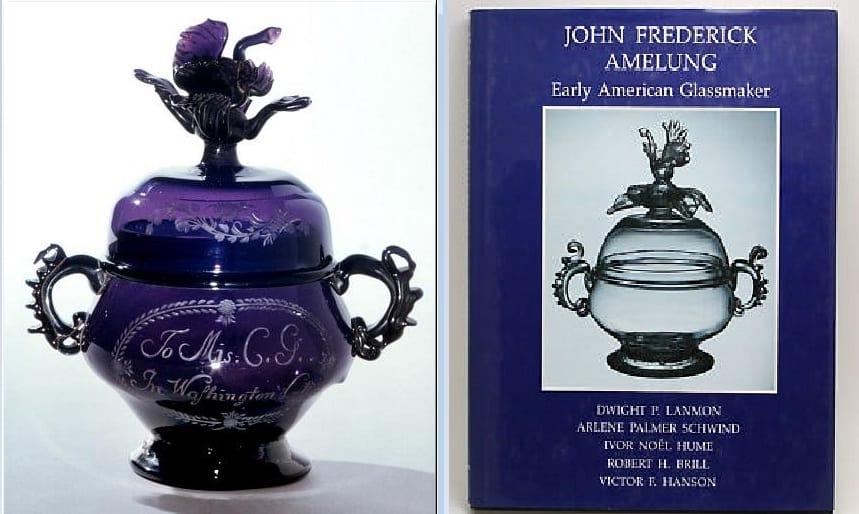 Цветные стёкла Амелунга из американских музеев