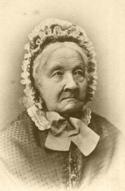 А это моя двоюродная прапрапрапрабабушка Франциска Амелунг