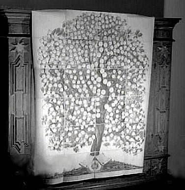 Бабушка Франциска нарисовала настоящее дерево