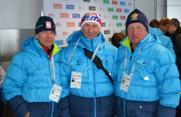 Карелы на олимпийской трассе в Сочи (видео)