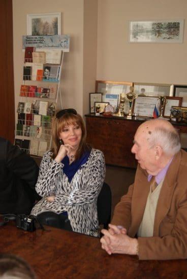 Екатерина Рождественская и Марат Тарасов. Фото с сайта ПетрГУ