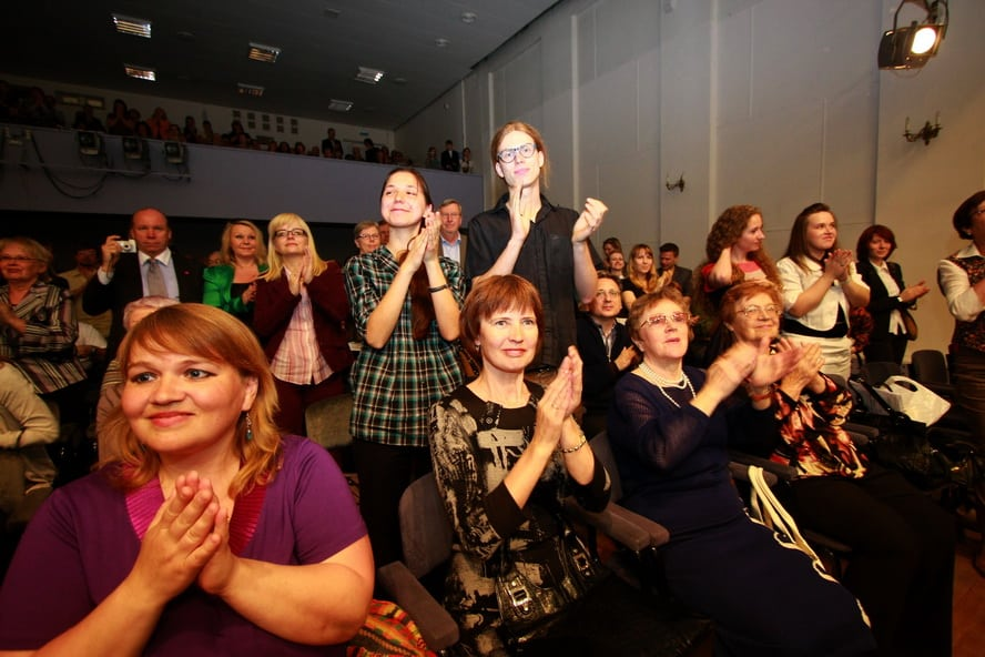 Борис Березовский покорил петрозаводскую публику. Фото: Владимир Ларионов