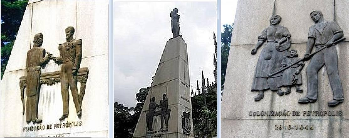 Памятник создателям Петрополиса