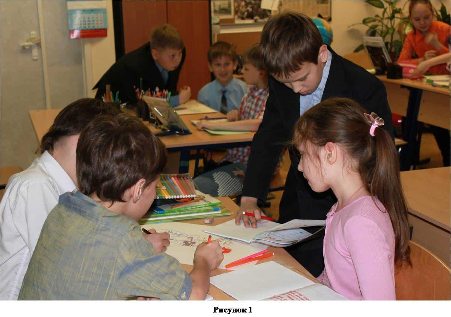 дети рисуют интеллект-карту