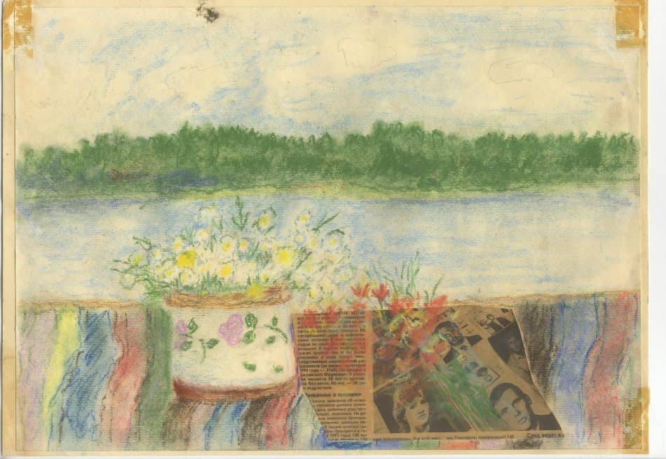С. Милькина. Вид из окна в Икше