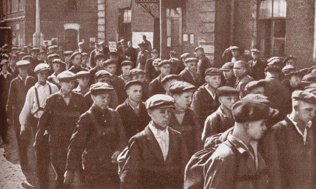 Первый день войны. Фото: posredi.ru