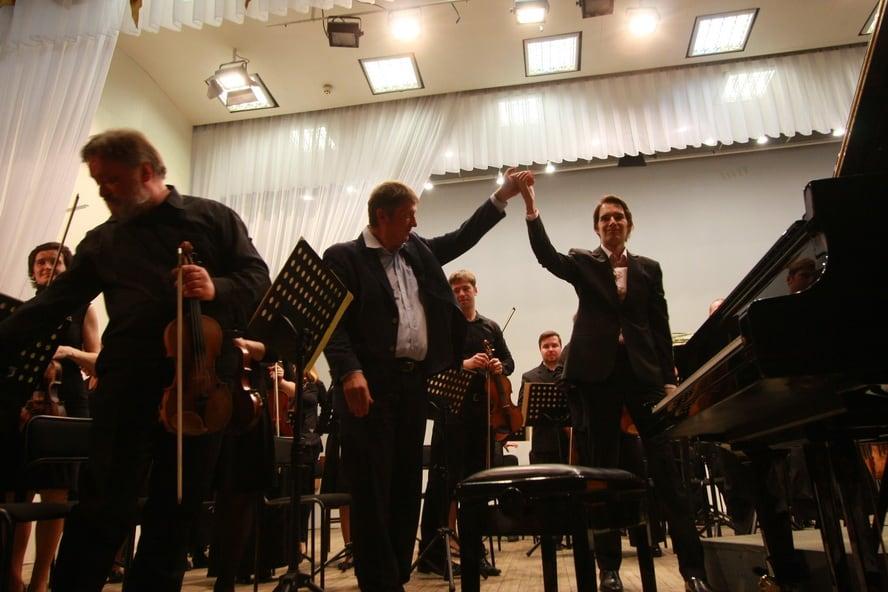 Мариус Стравинский и Борис Березовский. Фото Владимира Ларионова