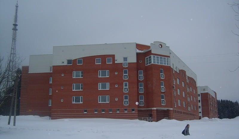 Жилые дома на ул. Пархоменко