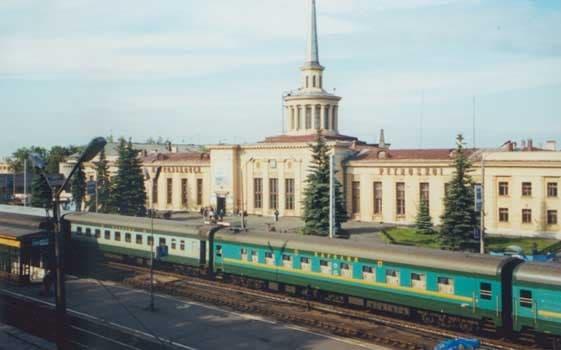 Железная дорога и… рядом