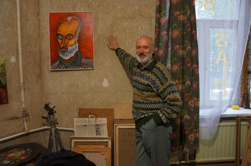 Автопортреты Владимира Горохова