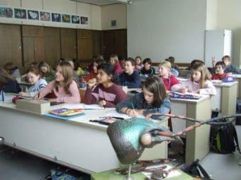 В немецкой школе запретили домашние задания