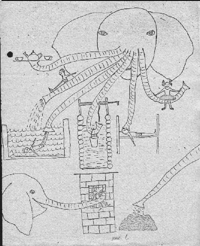 Идеи детей зарисовала Жанна Есина