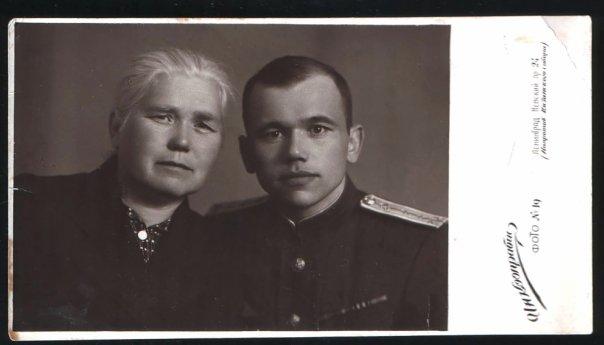 Надежда Матвеевна и Герман Никитьевич Свинцовы